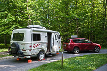 Site 13, Mammoth Cave National Park Campground, KY