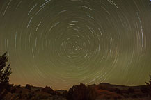Stars at Kodachrome Basin