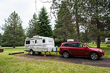 Site B8, Joseph H. Stewart State Campground, OR
