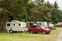 Site 73, Lincoln City KOA, OR