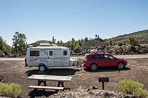 Site 25, Craters of the Moon Campground